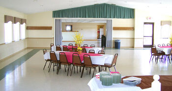 Our Banquet Room is available for parties, receptions or any type of private or corporate event