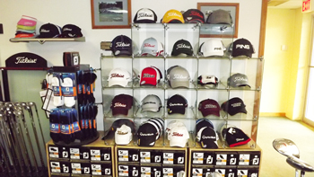 Our Pro Shop carries hats, gloves, shoes and more Blue Ridge Country Club