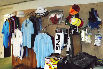 Apparel in the Pro Shop at Blue Ridge Country Club