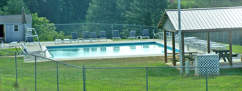 Swimming Pool Area at Blue Ridge Country Club